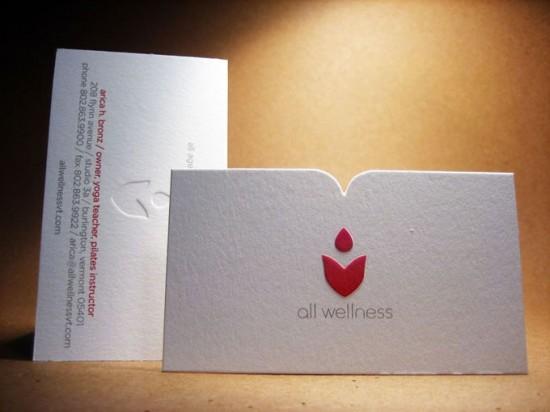 galería de tarjetas de presentación creativas, All Wellness