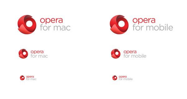 Branding de opera logos