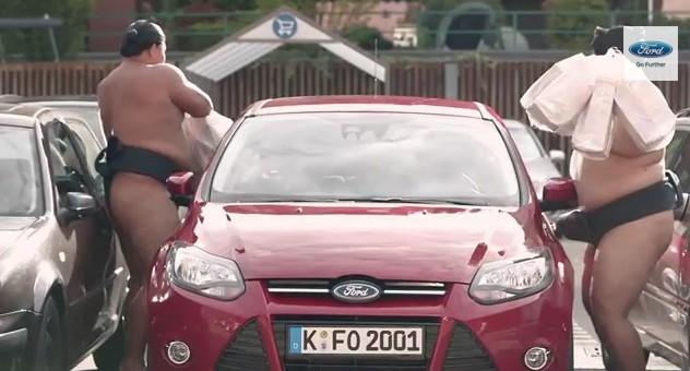 publicidad viral de Ford
