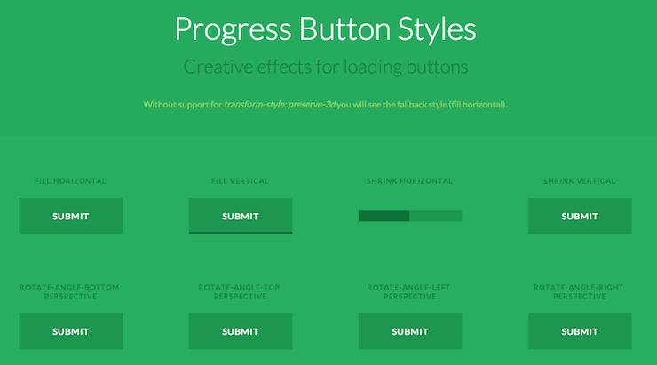 Crear botones animados