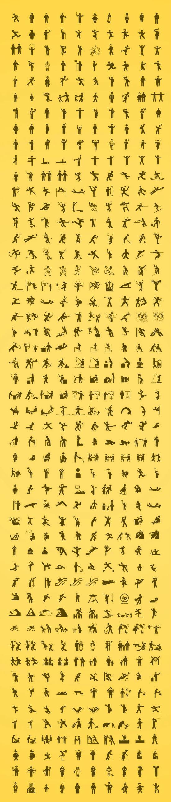 pictogramas de personas