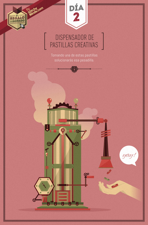 dispensador de pastillas creativas