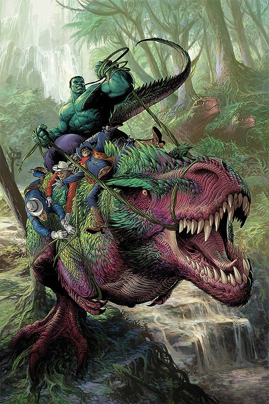 ilustraciones nisachar hulk