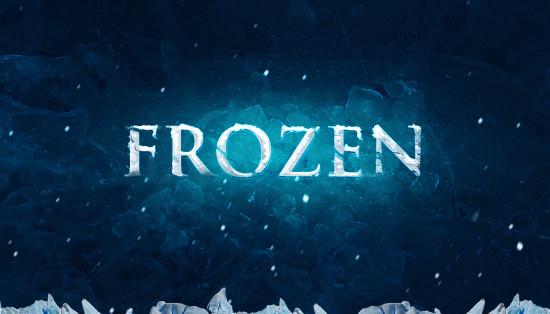 crear letras congeladas