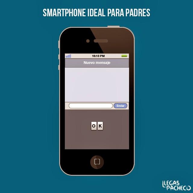 llegas pacheco smartphone para padres