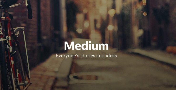 medium, plataforma de blogs