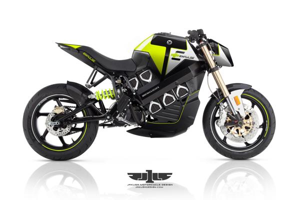Increíble concepto de motocicleta con diseño futurista por Tamás Jakus