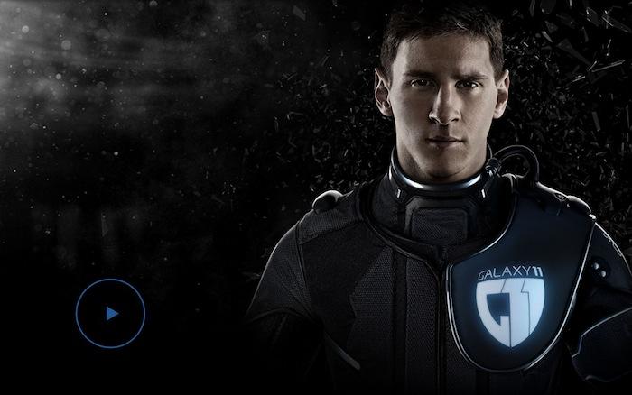 comercial de Samsung galaxy 11 messi