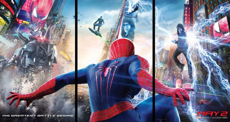 trailer oficial de The Amazing Spider Man 2