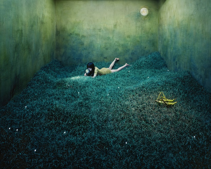 escenarios surrealistas por JeeYoung Lee, Treasure Hunt