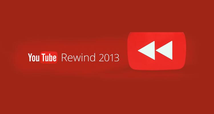 mejores videos en YouTube 2013, rewind 2013