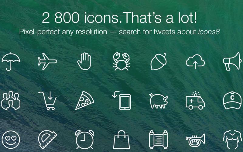 iconos para diseñadores web
