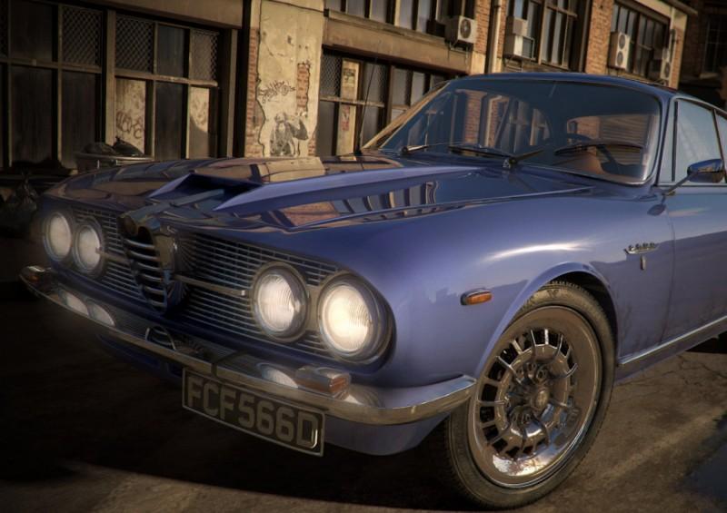 Tutoriales de diseño 3D , Tutorial para diseñar auto con 3D Studio Max: Alfa Romeo 2600