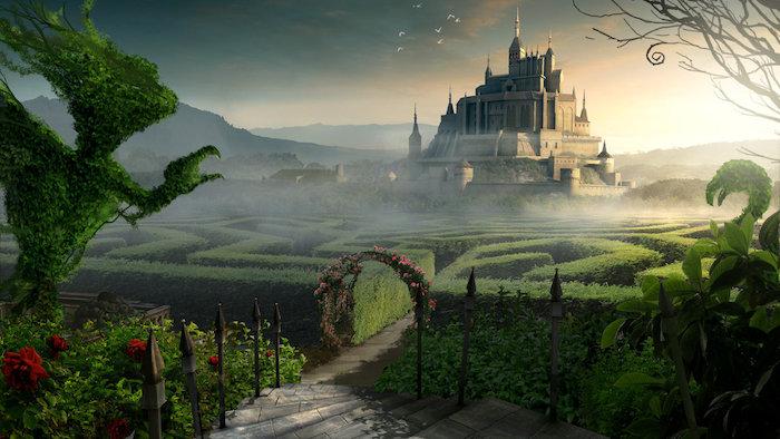 diseños digitales de escenarios, Alice's Maze