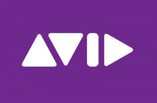 Diseños de logos tipográficos, Avid por The Brand Union