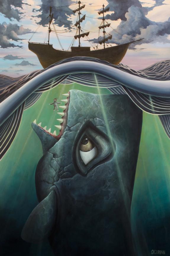 Ilustraciones marinas por Graham Curran