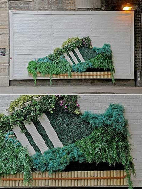 ejemplos de ambient marketing adidas