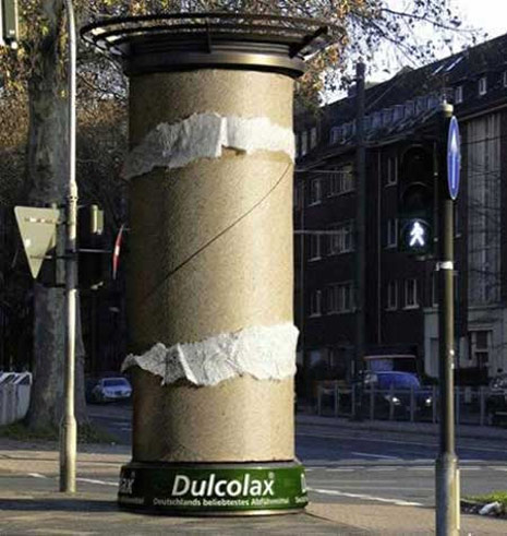 ambient marketing dulcolax