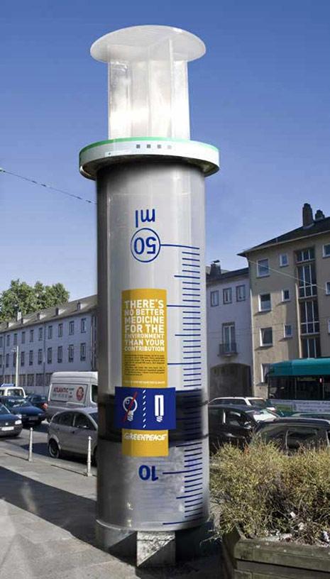 ambient marketing greenpeace