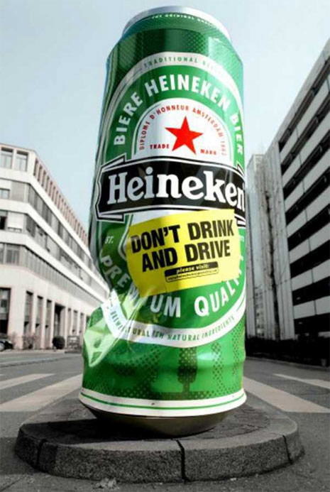 ambient marketing heineken