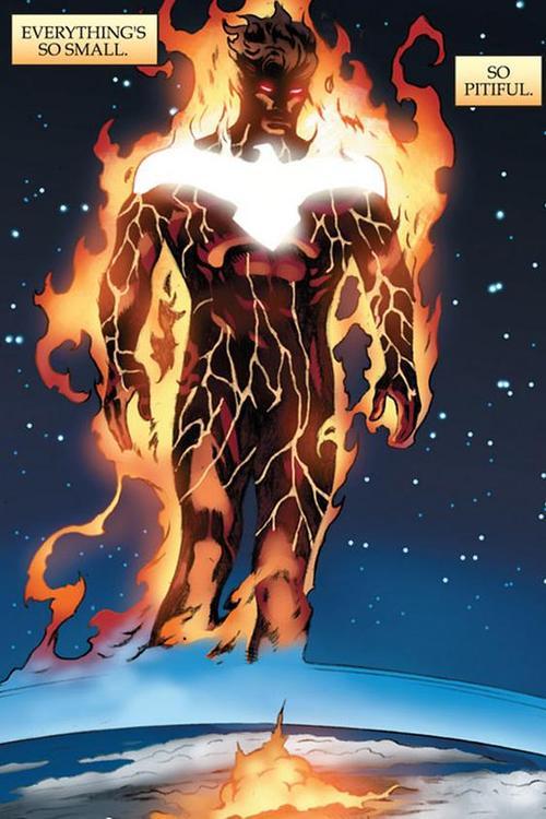 Imágenes de comics de superhéroes, antorcha