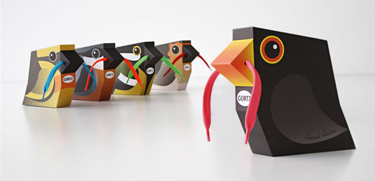 diseños de packaging Gortz shoes
