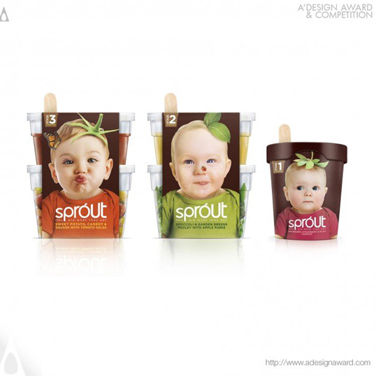 diseños de packaging sprout