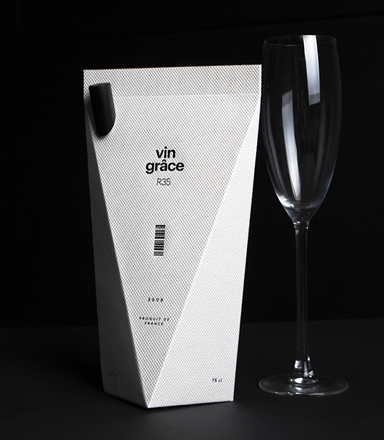 diseños de packaging vin grace
