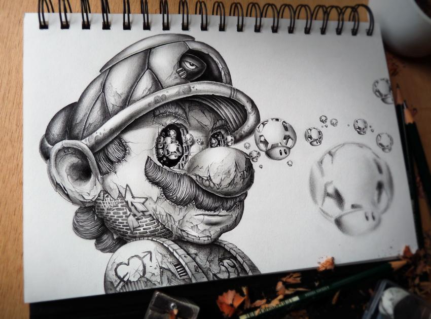El famoso personaje de Nintendo Mario Bros