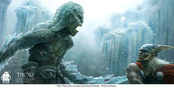 frost giant vs thor
