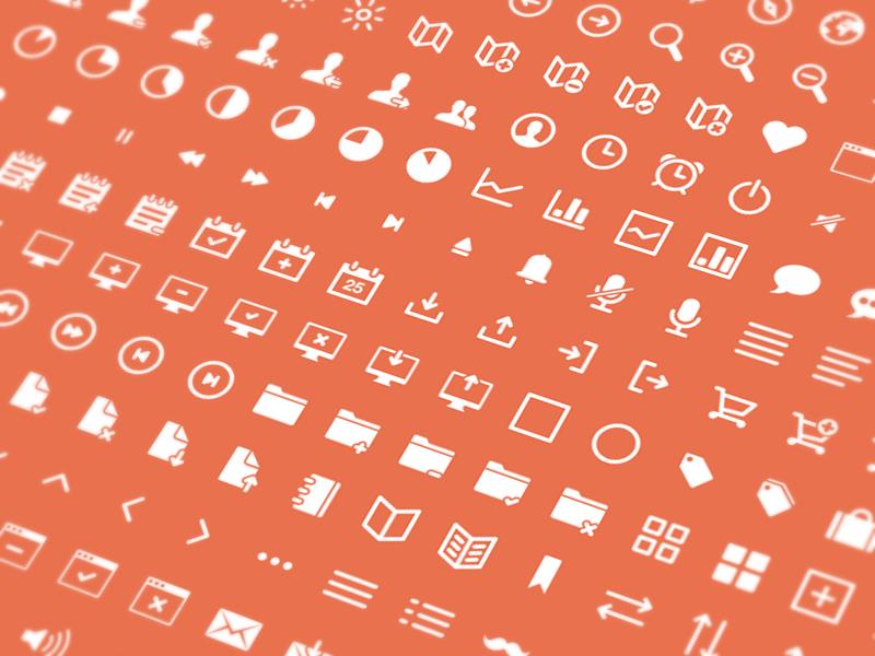 ikons, vectores para diseño web gratis