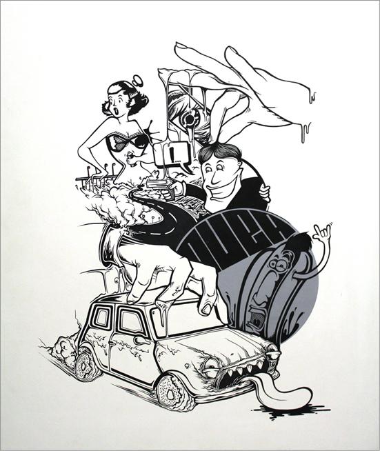 ilustraciones life road