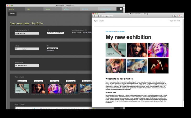 portafoliobox, crear portafolios web gratis