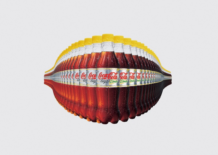 Afiche de Coca Cola Light sabor Limon