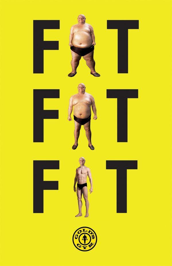 Publicidad de gimnasio: Golds Gym