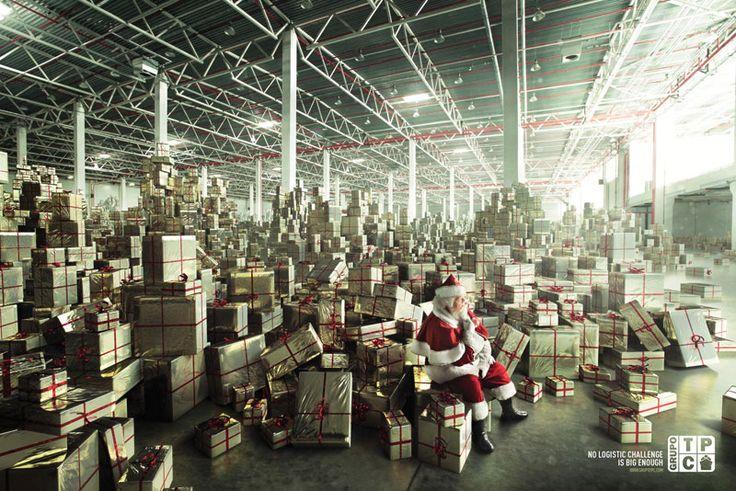 Publicidad navideña del grupo TCP