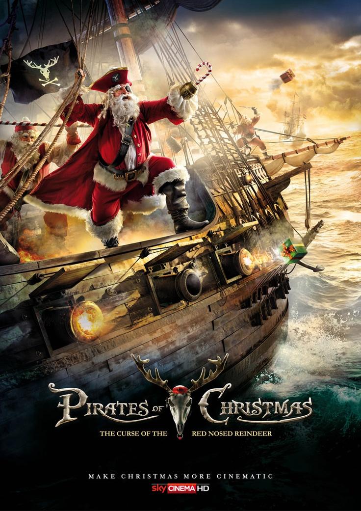 """Publicidad navideña de Sky Cinema y los """"piratas de la navidad"""""""