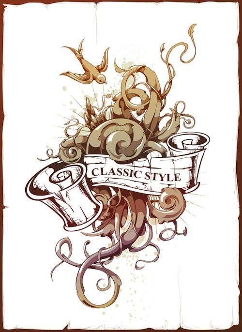 Tutorial para crear un tatuaje vectorial con Adobe Illustrator