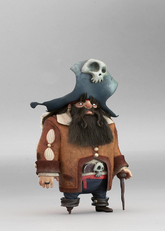 Tutorial zBrush para crear personaje 3D: Pirata