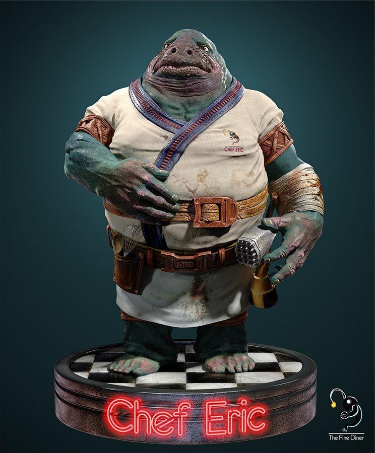 Tutorial zBrush para diseñar personaje 3D: Chef Eric