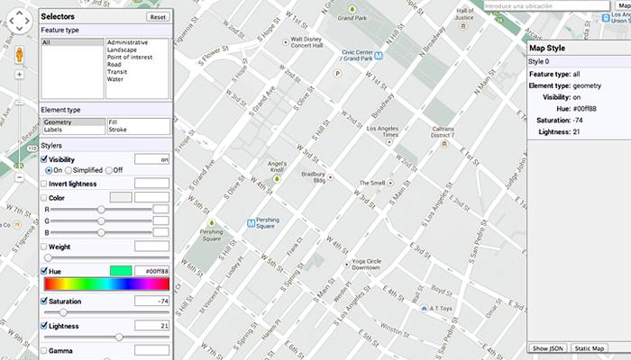 Google Maps Editor