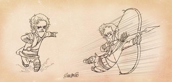 caricaturas personajes enanos 2
