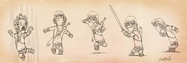 caricaturas personajes enanos 5