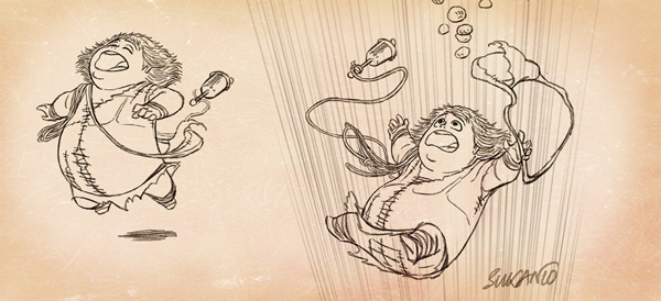 caricaturas personajes enanos 7