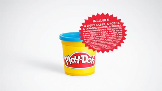 cartel publicitario play doh