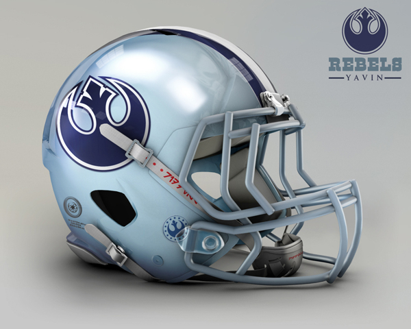 cascos NFL Rebels