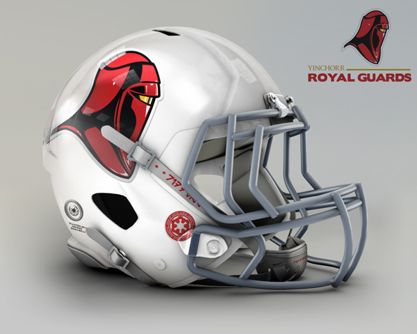 cascos NFL Royal Guards