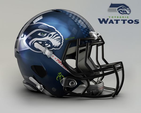 cascos NFL Wattos