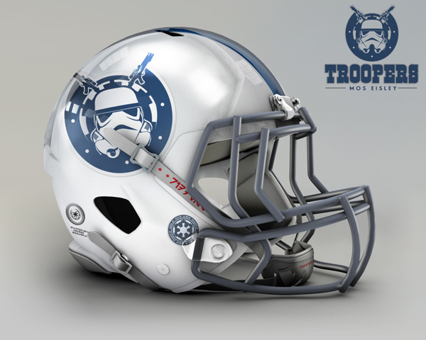 cascos NFL troopers