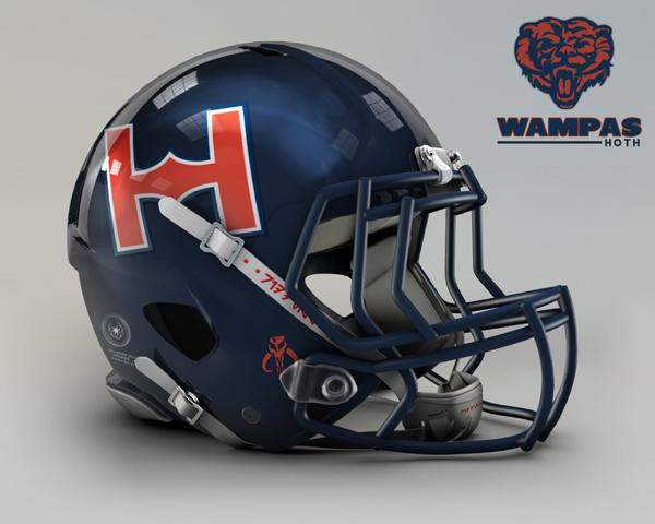 cascos NFL wampas
